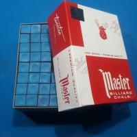 Chalk Billiard Kapur Stick Billiard Original Master 12 pcs