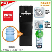 MITO MD-666 Water dispenser galon bawah Hot-normal-cool MD666