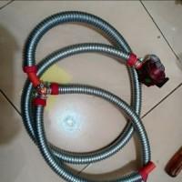 selang gas cabang 3 / selang cabang oven gas