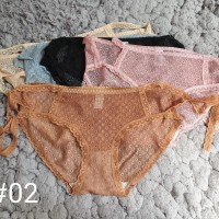 celana dalam model bikini / tali samping transparan sexy allsize