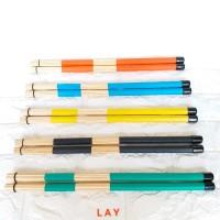 Stick Drum Stik Brush Rod Dowel Rute Lidi Bambu Bamboo Jazz Band