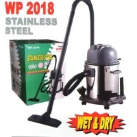 Vacuum Cleaner Wet and Dry Stainless steal Wp-2018