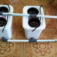 sistem dutch / Wick / kratky / ember bucket hidroponik & aquaponik no3
