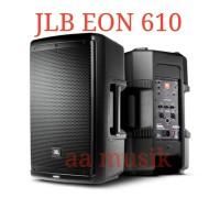 SPEAKER AKTIVE JBL EON 610 ORIGINAL GARANSI RESMI 1 TAHUN 10 INCH