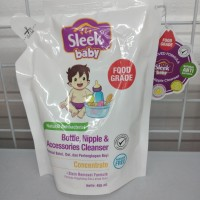 sleek baby natural antibacterial 450ml