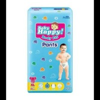 BABY HAPPY POPOK PANTS M34+6/ L30+6/ XL26+6 KODE 1073