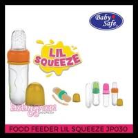 BABYSAFE BABY SAFE FOOD FEEDER LIL SQUEEZE JP030 / GIGITAN BUAH BUBUR