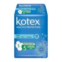 Kotex soft & smooth maxi plus wing 23cm 16s