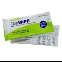 ALCOHOL TISSUE ONEWIPE by ONEMED*