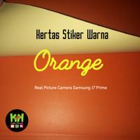 Kertas Stiker Warna Orange 34x27cm