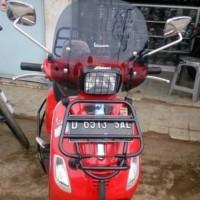 Flyscreen / windshield Vespa S.Aksesoris Vespa - Clear