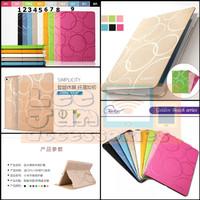 """New iPad 2018 9.7"""" Luxury KAKUSIGA Circle Smart Flip Cover / Case"""