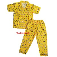 Baju Tidur Anak/ Piyama Anak Unisex ( Usia 1-6 tahun)