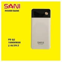 Powerbank Sani 10.000 mAh - New Slim Design - ORIGINAL 100% Real