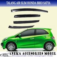 Promo Talang Air/Side Visor Slim Mobil Honda Brio Satya Terlaris