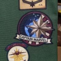 Pouch Captain Marvel Legends EndGame End game USF star force avengers