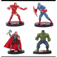 MARVEL The AVENGERS Action Figure Set 4