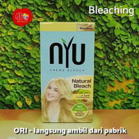 NYU Natural Bleach Bleaching Rambut Alami NO AMMONIA tdk merusak rambt