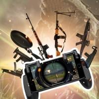 TG Wireless Gaming Trigger Controller Gamepad Handle untuk pubg