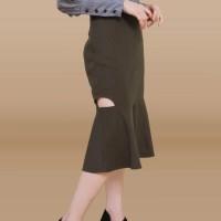 Kakuu Basic - Side Slit Mermaid Skirt