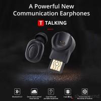 Bluedio Earphone Sport Wireless Bluetooth dengan Mic untuk Handphone