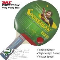 DHS Powerspin Original PingPong Bat - Bet Tenis Meja Ping pong Table