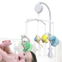 Baby Crib Mobile Bed Bell Toy Hanging Music Box : MELODIES TF Card