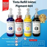 Tinta Pigment Epson 664 Pigmen 100ml Printer L110 L565 L120 L360 L1455