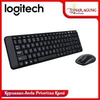 Logitech MK215 Wireless Keyboard Mouse GARANSI RESMI