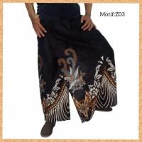celana sarung dewasa muslim pria jumbo bigsize motif z03