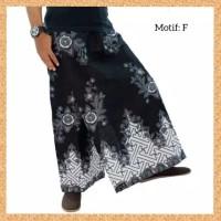 celana sarung dewasa muslim pria jumbo bigsize motif f