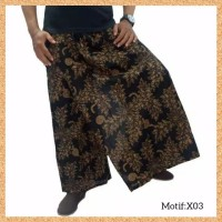 celana sarung dewasa muslim pria jumbo bigsize motif x03