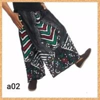 celana sarung dewasa muslim pria jumbo bigsize motif a02