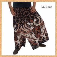 celana sarung dewasa muslim pria jumbo bigsize motif z02