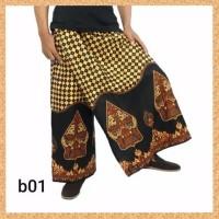 celana sarung dewasa muslim pria jumbo bigsize motif b01