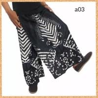 celana sarung dewasa muslim pria jumbo bigsize motif a03