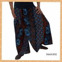celana sarung dewasa muslim pria jumbo bigsize motif x02
