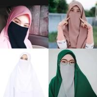 Fashion Muslim / Scarf / Cadar / Cadar Tali Ceruti Baby Doll Premium
