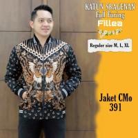 Jaket Batik Pria Solo Modis Casual Formal High Quality kode CMo 391