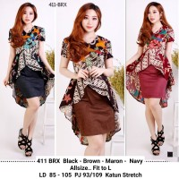Dress Batik Kondangan / Dress Batik Formal