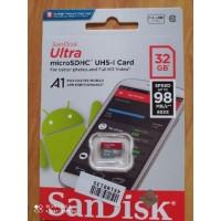 SanDisk Ultra MicroSD 32GB A1 98MB/s microSDHC UHS-I