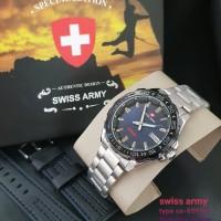 jam tangan SWISS ARMY PRIA TANGGAL SPECIAL COUNTDOWN BEZEL