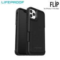 Case iPhone 11 Pro Max LifeProof FLIP Dark Night - Black Grey