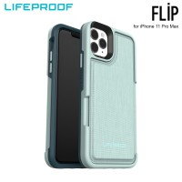 Case iPhone 11 Pro Max LifeProof FLIP Water Lily - Light Blue Green