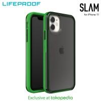 Case iPhone 11 LifeProof SLAM Defy Gravity - Smoke Green