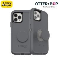 Case iPhone 11 Pro Otter + Pop Defender - Howler Grey