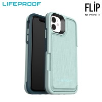 Case iPhone 11 LifeProof FLIP Water Lily - Light Blue Green