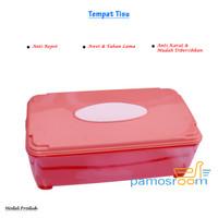 Pamosroom Kotak Tisu Tempat Tissue Wadah Tissu Bahan Plastik Bermutu