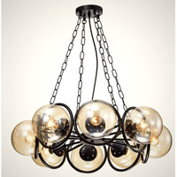 Lampu gantung hias rumah BALL INDUSTRIAL pendant light DIAMETER 70 CM