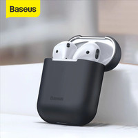 BASEUS ULTRA THIN CASE FOR AIRPODS SILICONE AIRPODS CASE 1/2